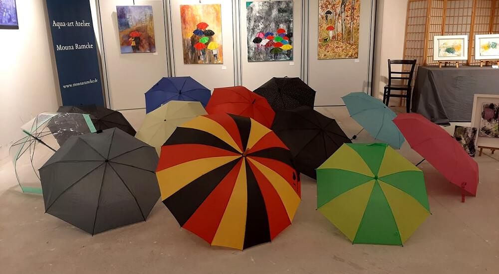 Pinneberger Ausstellung - Regen ist romantisch